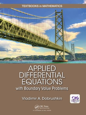 cover image of Applied Differential Equations with Boundary Value Problems