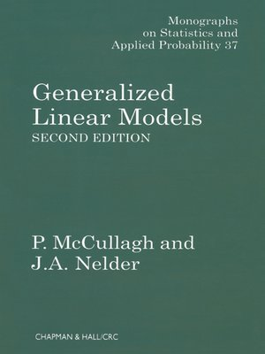 cover image of Generalized Linear Models