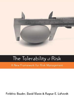 cover image of The Tolerability of Risk