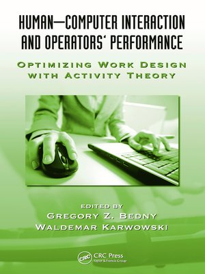 cover image of Human-Computer Interaction and Operators' Performance