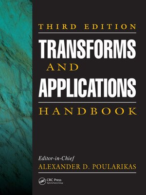 cover image of Transforms and Applications Handbook