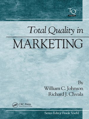 cover image of Total Quality in Marketing