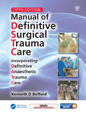 cover image of Manual of Definitive Surgical Trauma Care