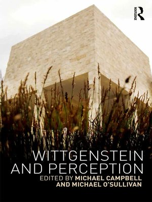 cover image of Wittgenstein and Perception