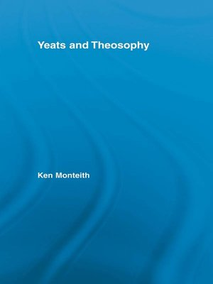 cover image of Yeats and Theosophy