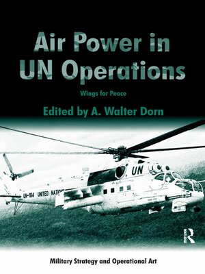 cover image of Air Power in UN Operations
