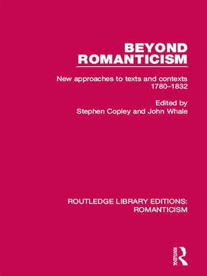 cover image of Beyond Romanticism