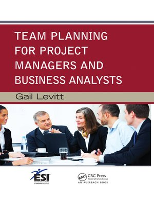 cover image of Team Planning for Project Managers and Business Analysts