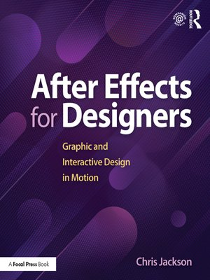 cover image of After Effects for Designers