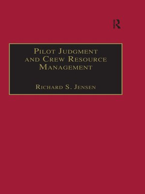 cover image of Pilot Judgment and Crew Resource Management