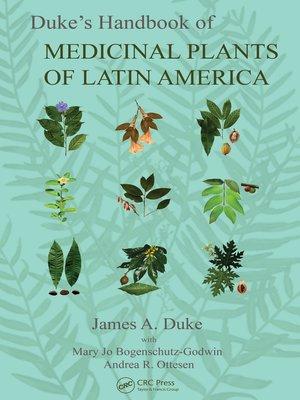 cover image of Duke's Handbook of Medicinal Plants of Latin America