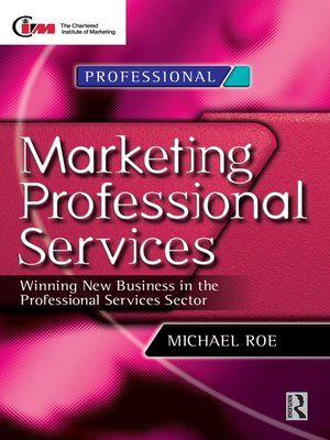 cover image of Marketing Professional Services