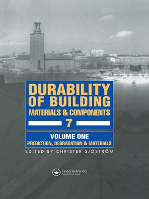 cover image of Durability of Building Materials & Components 7 Volume1