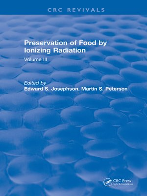 cover image of Preservation of Food by Ionizing Radiation