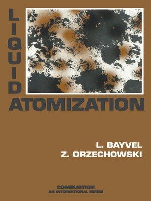 cover image of Liquid Atomization