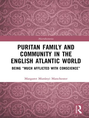 cover image of Puritan Family and Community in the English Atlantic World
