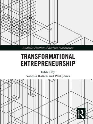 cover image of Transformational Entrepreneurship