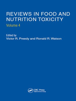 cover image of Reviews in Food and Nutrition Toxicity, Volume 4