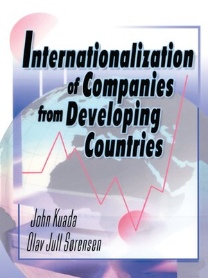cover image of Internationalization of Companies from Developing Countries