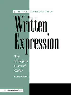 cover image of Written Expression Disk with Workbook