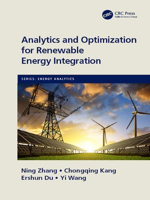 cover image of Analytics and Optimization for Renewable Energy Integration