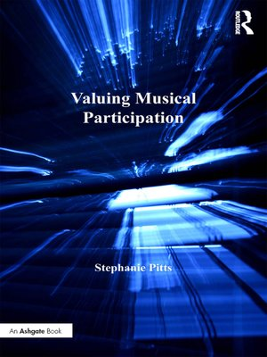cover image of Valuing Musical Participation