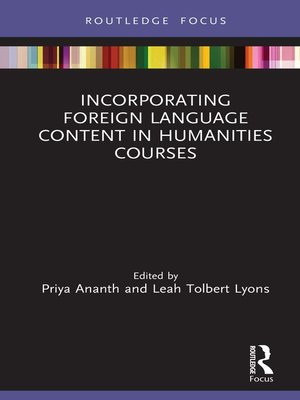 cover image of Incorporating Foreign Language Content in Humanities Courses