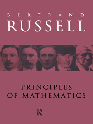 cover image of Principles of Mathematics