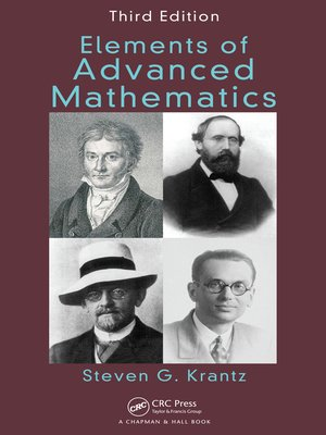 cover image of Elements of Advanced Mathematics