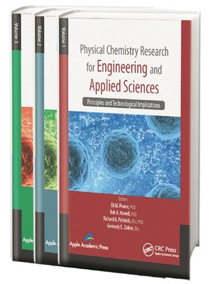 cover image of Physical Chemistry Research for Engineering and Applied Sciences--Three Volume Set