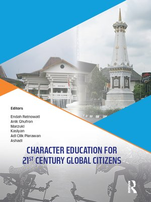 cover image of Character Education for 21st Century Global Citizens