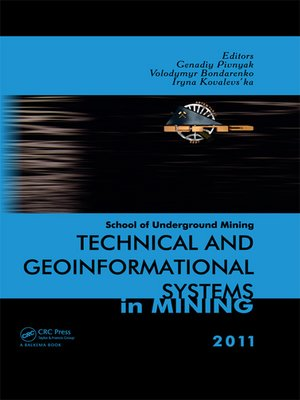 cover image of Technical and Geoinformational Systems in Mining