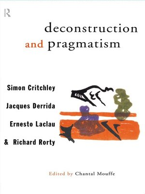 cover image of Deconstruction and Pragmatism