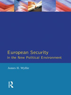 cover image of European Security in the New Political Environment