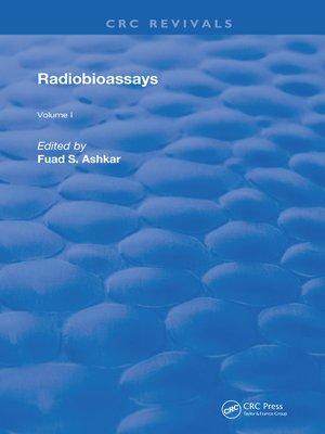 cover image of Radiobioassays