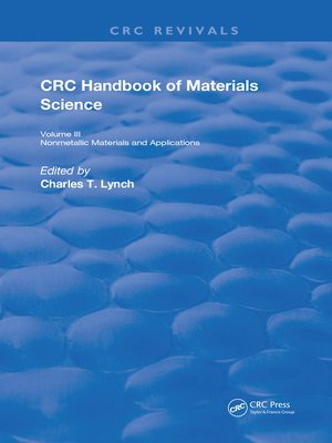 cover image of Handbook of Materials Science