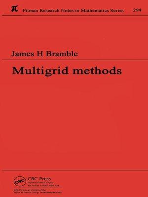 cover image of Multigrid Methods