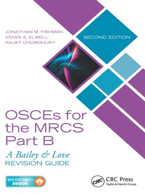 cover image of OSCEs for the MRCS Part B