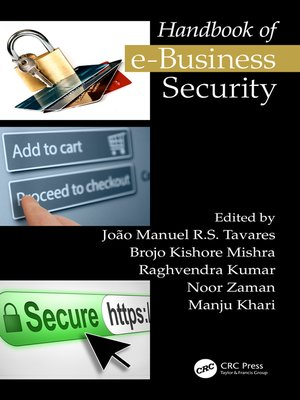 cover image of Handbook of e-Business Security