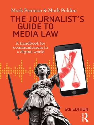 cover image of The Journalist's Guide to Media Law