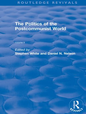cover image of The Politics of the Postcommunist World