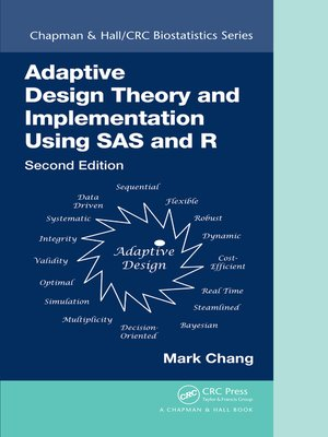 cover image of Adaptive Design Theory and Implementation Using SAS and R