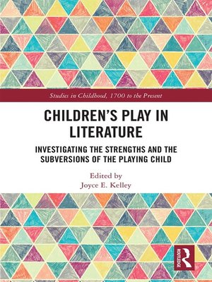 cover image of Children's Play in Literature