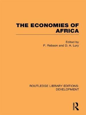 cover image of The Economies of Africa