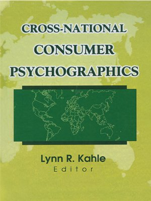 cover image of Cross-National Consumer Psychographics