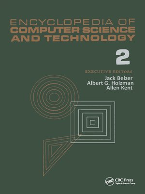 cover image of Encyclopedia of Computer Science and Technology