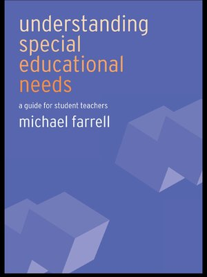 cover image of Understanding Special Educational Needs