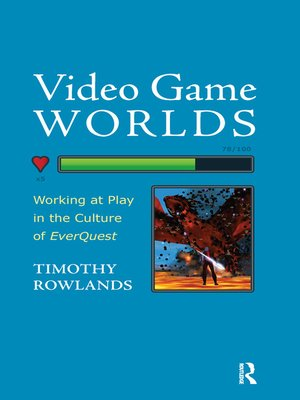 cover image of Video Game Worlds