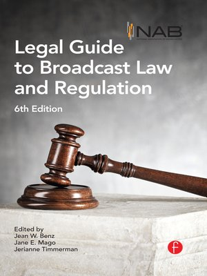 cover image of NAB Legal Guide to Broadcast Law and Regulation