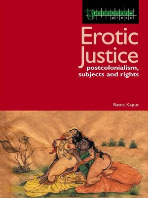 cover image of Erotic Justice